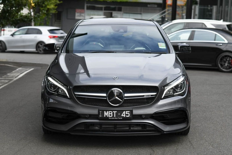 MERCEDES-BENZ CLA45 AMG C117 AMG Coupe 4dr SPEEDSHIFT DCT 7sp 4MATIC 2.0T (AW19)