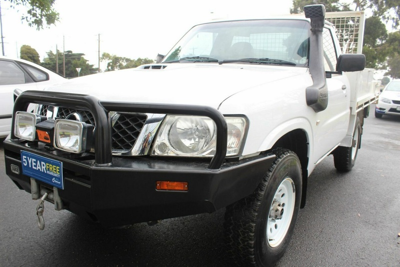NISSAN PATROL DX GU 6 DX Cab Chassis Single Cab 2dr Man 5sp 4x4 3.0DT (Leaf) [Series II]