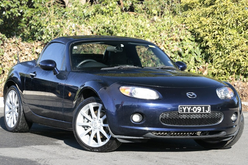 MAZDA MX-5 Roadster NC Series 1 Roadster Coupe Hardtop 2dr Spts Auto 6sp 2.0i [MY07]