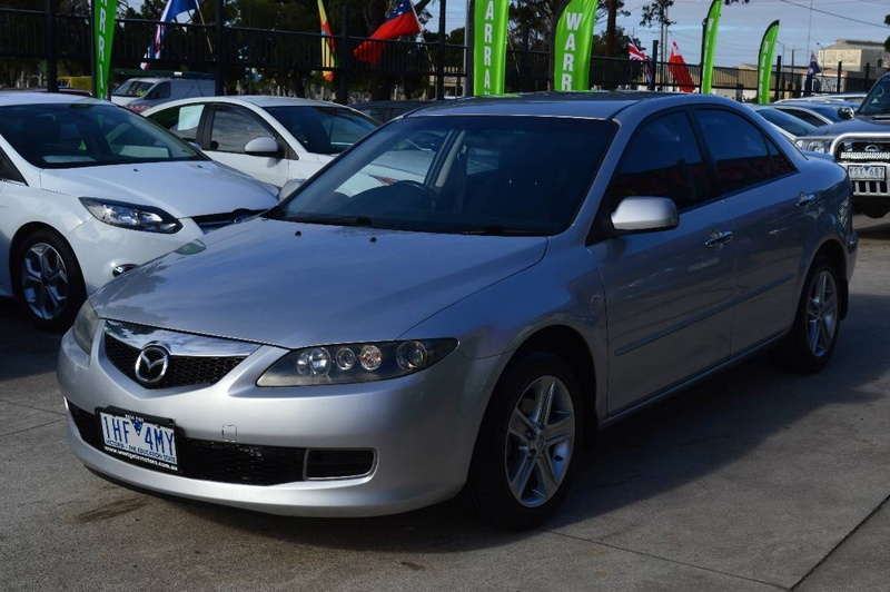 MAZDA 6 Sports GG Series 2 Sports Sedan 4dr Spts Auto 5sp 2.3i [MY07]