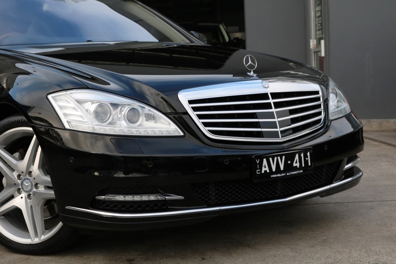 MERCEDES-BENZ S500 BlueEFFICIENCY W221 BlueEFFICIENCY Sedan 4dr 7G-TRONIC + 7sp 4.7TT [MY11]