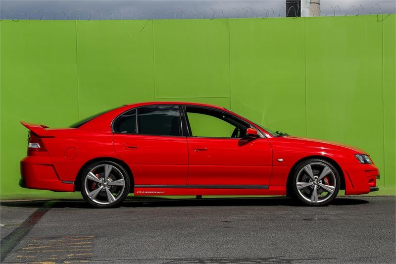 HOLDEN SPECIAL VEHICLES CLUBSPORT R8 Y Series 2 R8 Sedan 4dr Auto 4sp 5.7i [Sep]