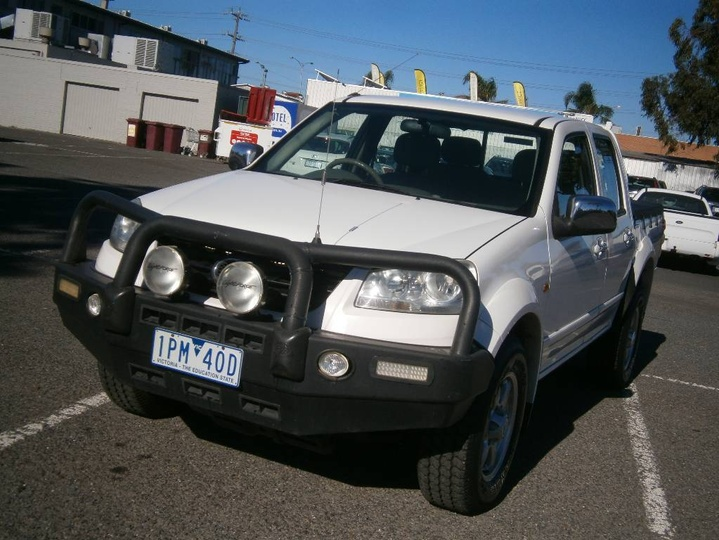 GREAT WALL V200  K2 Utility Dual Cab 4dr Man 6sp 4x4 2.0DT [MY11]