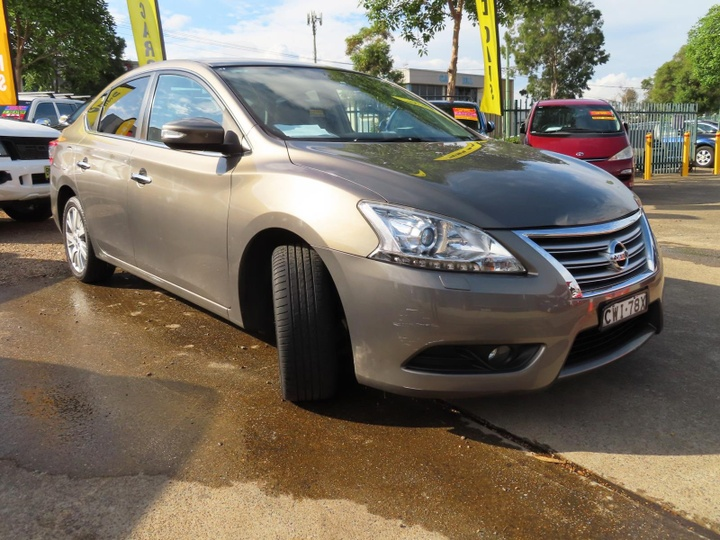 NISSAN PULSAR Ti B17 Ti Sedan 4dr CVT 1sp 1.8i [Feb]
