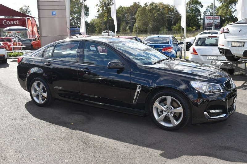 HOLDEN COMMODORE SS VF Series II SS Sedan 4dr Man 6sp 6.2i [MY16]