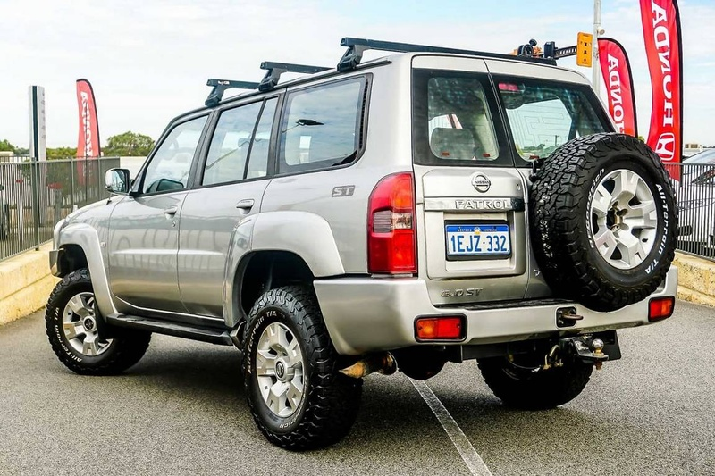 NISSAN PATROL ST GU IV ST Wagon 7st 5dr Auto 4sp 4x4 3.0DT [MY06]
