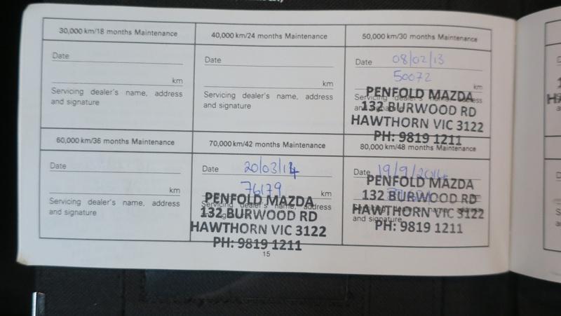 MAZDA 6 Classic GH Series 2 Classic Wagon 5dr Spts Auto 5sp 2.5i [MY10]