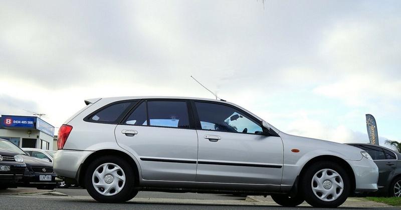 MAZDA 323 Astina BJ II-J48 Astina Hatchback 5dr Auto 4sp 1.8i