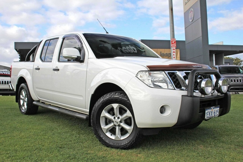 NISSAN NAVARA ST D40 Series 7 ST Utility Dual Cab 4dr Spts Auto 5sp 4x4 2.5DT (May)