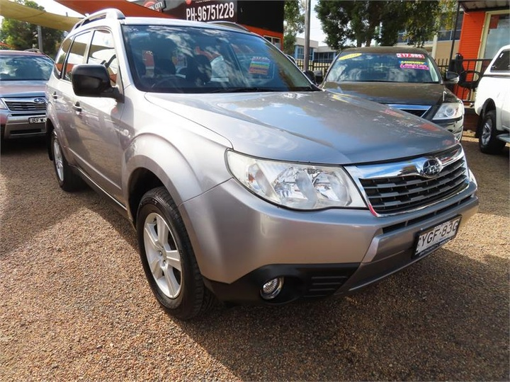 SUBARU FORESTER X S3 X Columbia. Wagon 5dr Spts Auto 4sp AWD 2.5i [MY10]