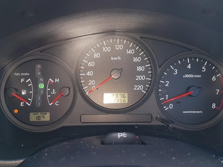 SUBARU IMPREZA GX S GX. Hatchback 5dr Auto 4sp AWD 2.0i [MY03]