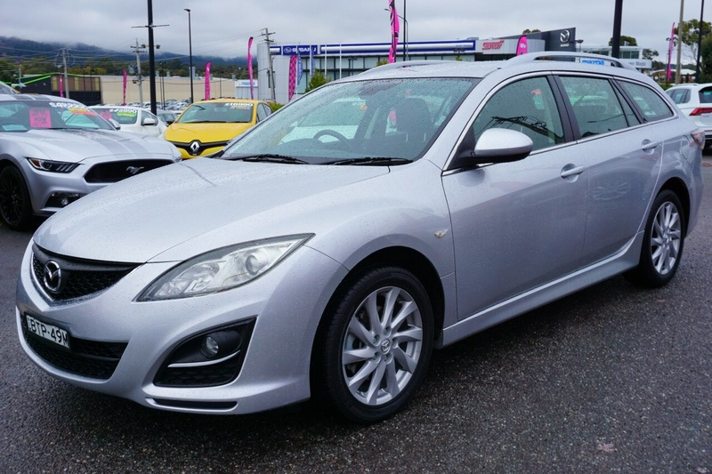 MAZDA 6 Classic GH Series 1 Classic Wagon 5dr Spts Auto 5sp 2.5i [MY09]