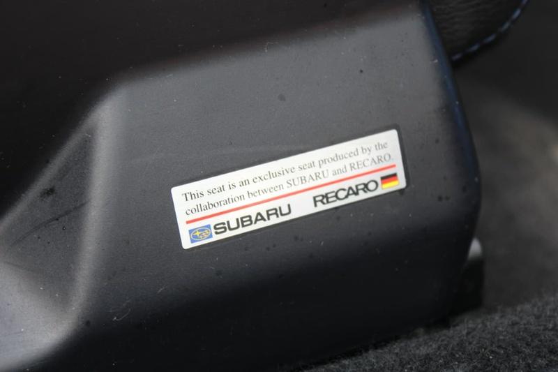 SUBARU IMPREZA WRX G3 WRX RS40. Sedan 4dr Man 5sp AWD 2.5T [MY14]