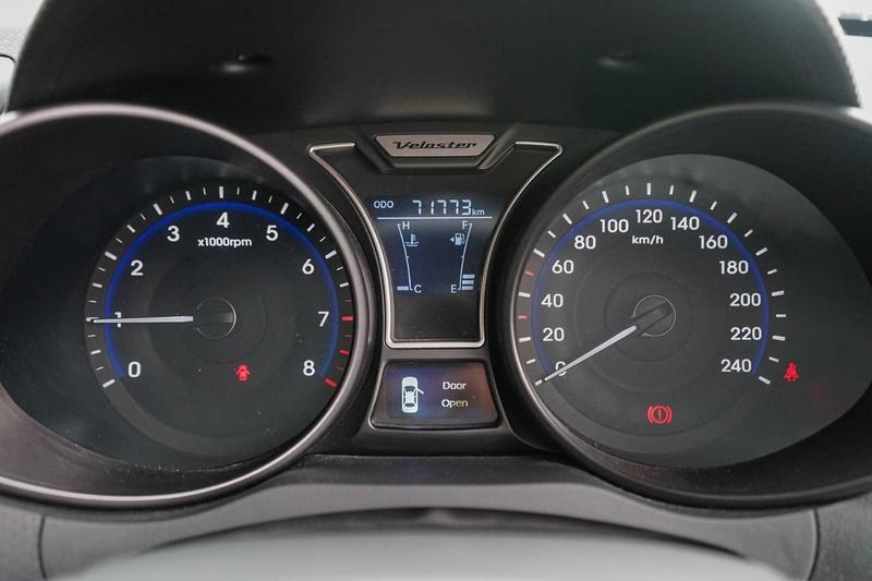 HYUNDAI VELOSTER SR FS3 SR Turbo Coupe 4dr Man 6sp 1.6T