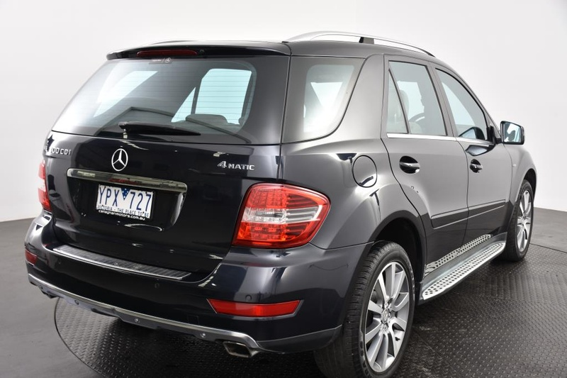 MERCEDES-BENZ ML BlueEFFICIENCY W164 BlueEFFICIENCY Wagon 5dr Spts Auto 7sp 4x4 3.0DT [MY11]