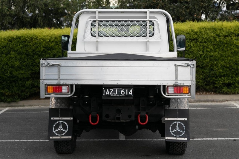 MERCEDES-BENZ G300 CDI W461 CDI Cab Chassis Single Cab 2dr Auto 5sp AWD 3.0DT