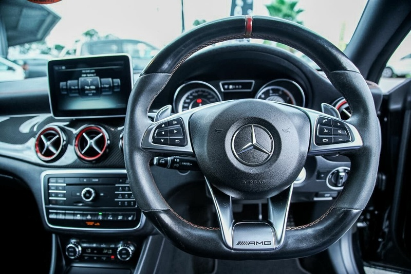 MERCEDES-BENZ CLA45 AMG C117 AMG Coupe 4dr SPEEDSHIFT DCT 7sp 4MATIC 2.0T