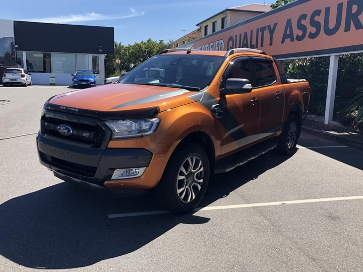 Ford Ranger Wildtrak Px Mkii Utility Double Cab 4dr Spts Auto 6sp 4x4 3 2dt