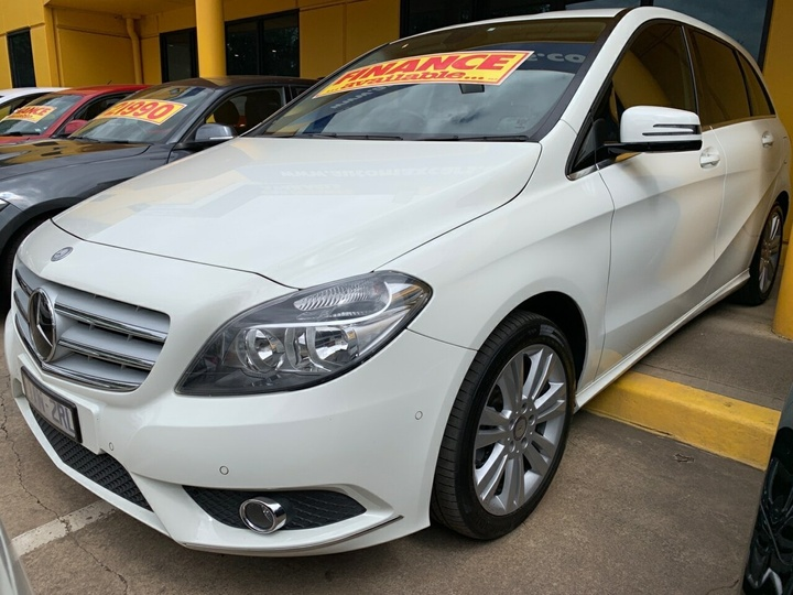 MERCEDES-BENZ B200 CDI  W246 Hatchback 5dr DCT 7sp 1.8DT (Jun) [Jan]