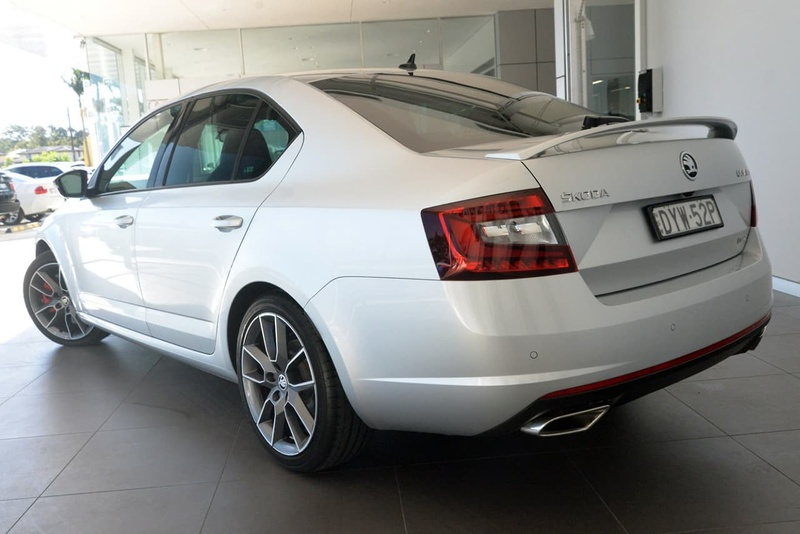 SKODA OCTAVIA RS NE RS 169TSI Sedan 5dr Man 6sp 2.0T [MY18.5]