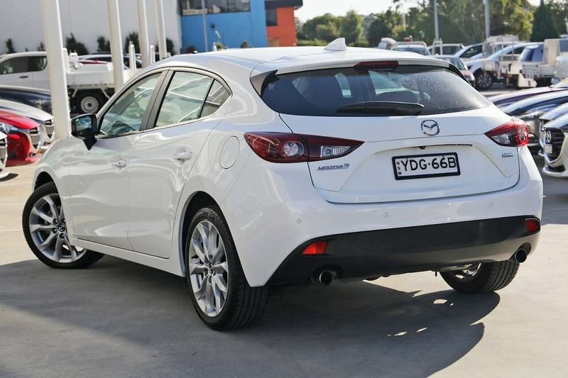 MAZDA 3 SP25 BM Series SP25 GT Hatchback 5dr SKYACTIV-Drive 6sp 2.5i [Jan]