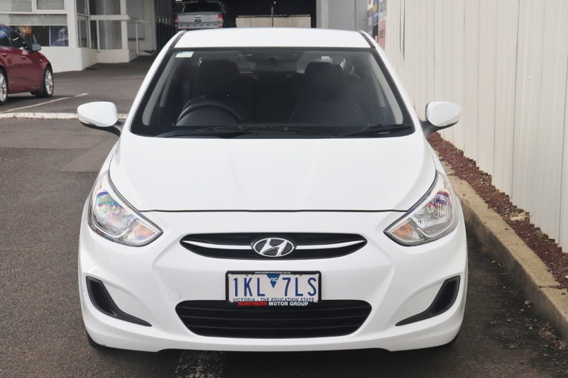 HYUNDAI ACCENT Active RB4 Active Hatchback 5dr CVT 6sp 1.4i [MY17]