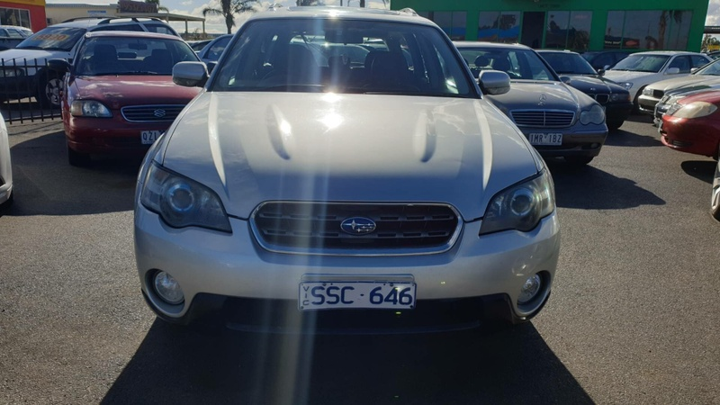 SUBARU OUTBACK Premium Pack 3GEN Premium Pack. Wagon 5dr Spts Auto 4sp AWD 2.5i [MY05]