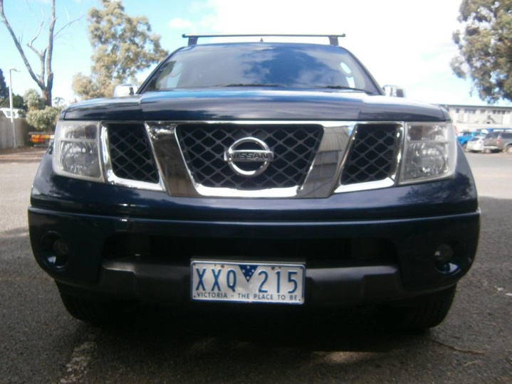 NISSAN NAVARA ST-X D40 ST-X Utility Dual Cab 4dr Auto 5sp 4x4 2.5DT [Jan]