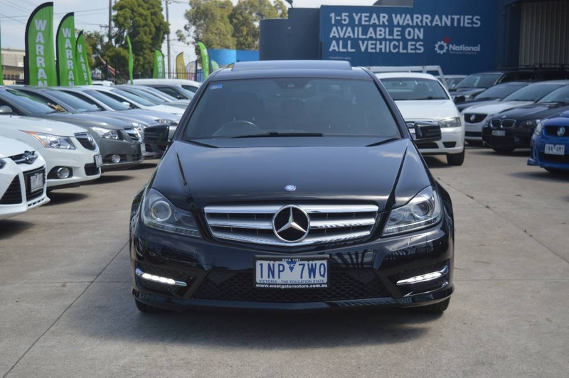 MERCEDES-BENZ C250 BlueEFFICIENCY W204 BlueEFFICIENCY Elegance Sedan 4dr 7G-TRONIC + 7sp 2.1DTT [MY12]