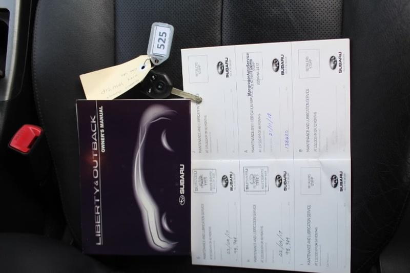 SUBARU OUTBACK 2.0D 4GEN 2.0D Premium. Wagon 5dr Man 6sp AWD 2.0DT (Sat Nav) [MY12]