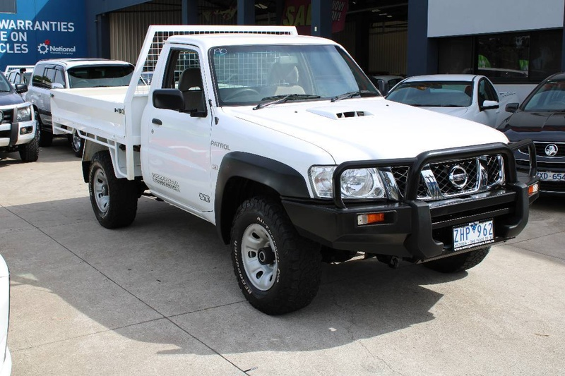 NISSAN PATROL ST GU 6 ST Cab Chassis Single Cab 2dr Man 5sp 4x4 3.0DT (Coil) [Series II]