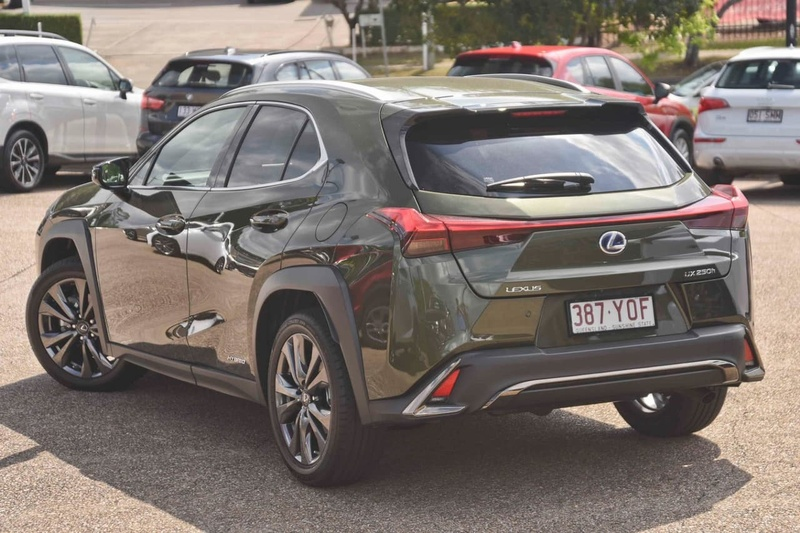 2018 Lexus Ux Ux250h F Sport Constantly Variable Transmission