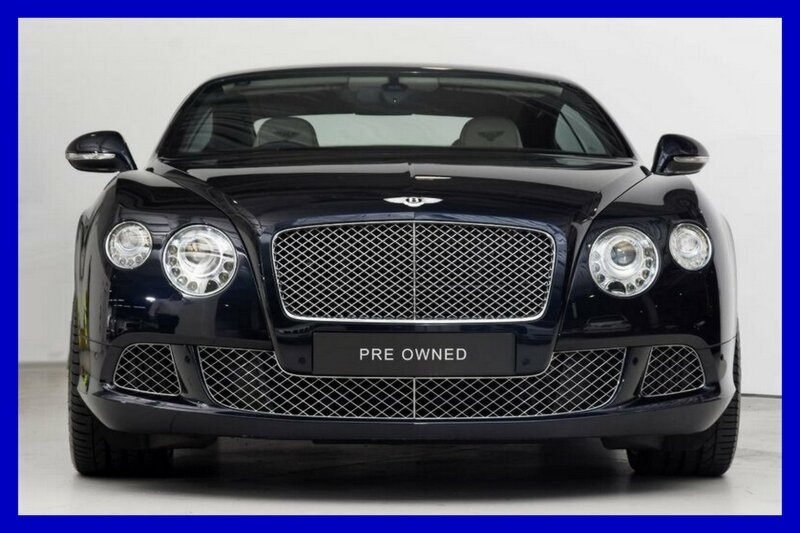 BENTLEY CONTINENTAL GT 3W GT Speed Coupe 2dr Spts Auto 8sp 4x4 6.0TT [MY13]