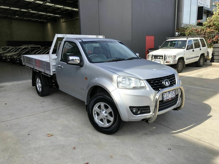 GREAT WALL V240  K2 Cab Chassis Single Cab 2dr Man 5sp 4x2 2.4i [MY12]