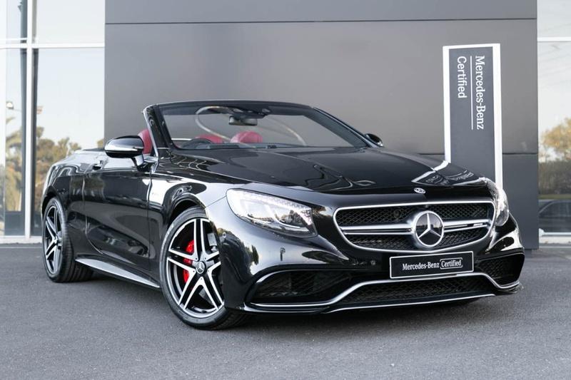 Mercedes Benz S63 Amg A217 Cabriolet 2dr Sdshift Mct 7sp 5 5tt