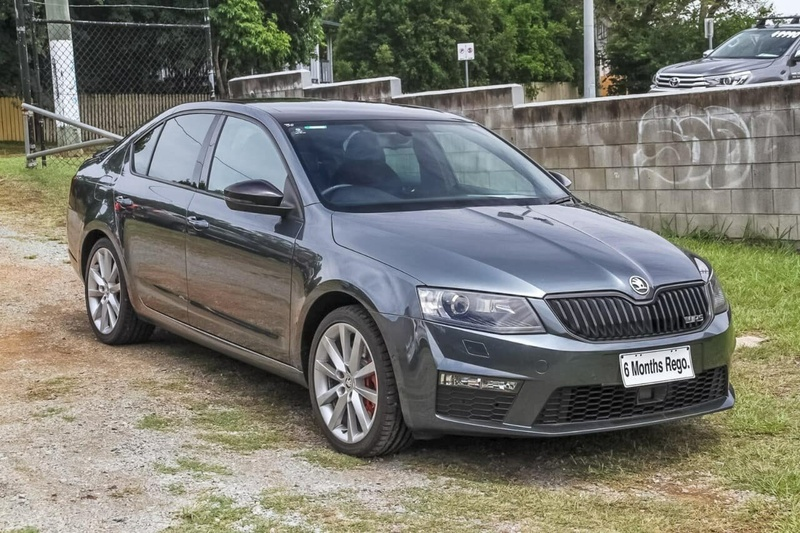 SKODA OCTAVIA RS NE RS 162TSI Sedan 5dr DSG 6sp 2.0T [MY16]