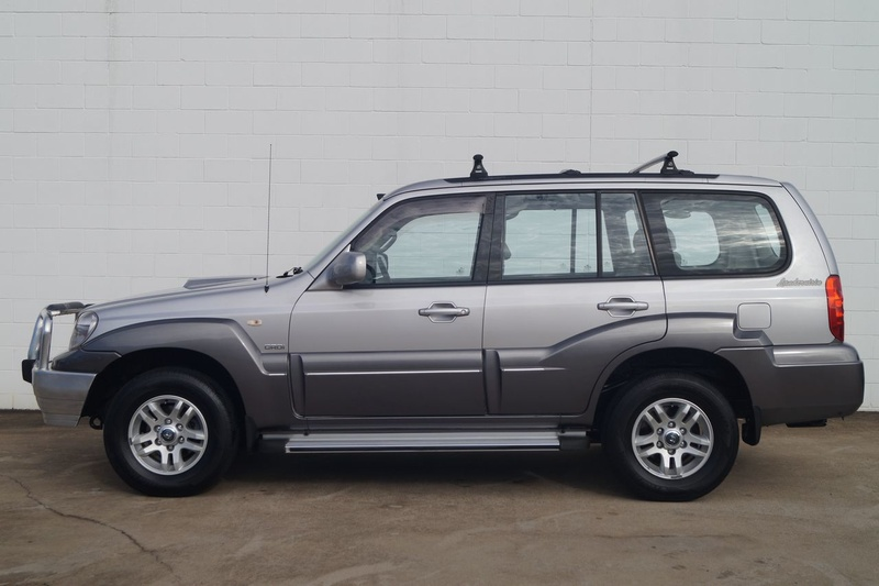 HYUNDAI TERRACAN Highlander HP Highlander Wagon 7st 5dr Auto 4sp 4x4 2.9DT [MY05]