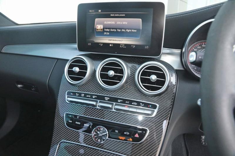 MERCEDES-BENZ C63 AMG W205 AMG S Sedan 4dr SPEEDSHIFT MCT 9sp 4.0TT [Jul]