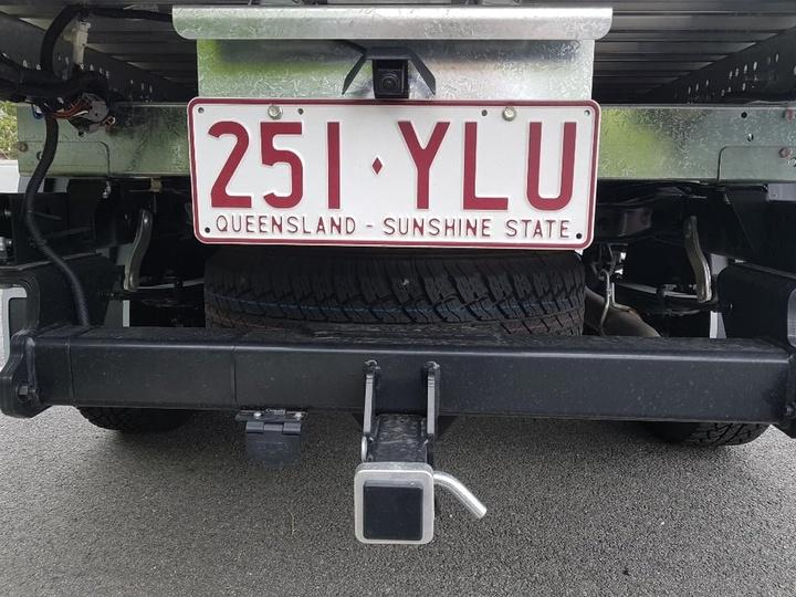 ISUZU D-MAX SX SX Cab Chassis Crew Cab 4dr Spts Auto 6sp 4x4 3.0DT [MY18]