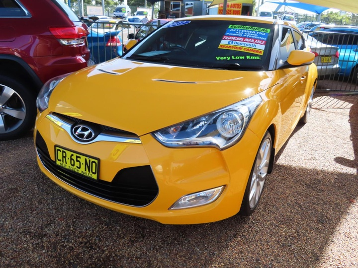 HYUNDAI VELOSTER + FS + Coupe 4dr D-CT 6sp 1.6i [Feb]