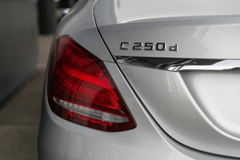 MERCEDES-BENZ C250 d W205 d Sedan 4dr 9G-TRONIC 9sp 2.1DTT [Jun]