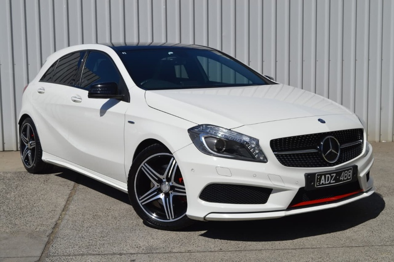 MERCEDES-BENZ A250 Sport W176 Sport Hatchback 5dr D-CT 7sp 2.0T