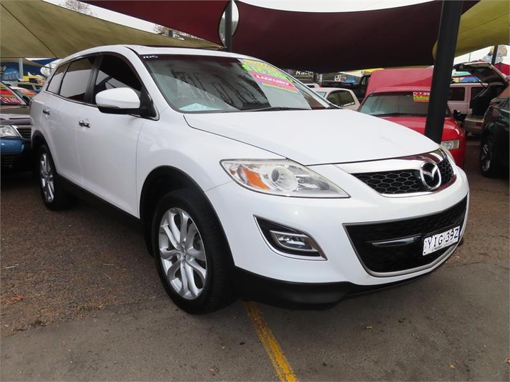 MAZDA CX-9 Luxury TB Series 3 Luxury Wagon 7st 5dr Spts Auto 6sp 4WD 3.7i (+Sat Nav) [MY10]