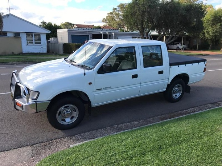 2001 HOLDEN RODEO LX