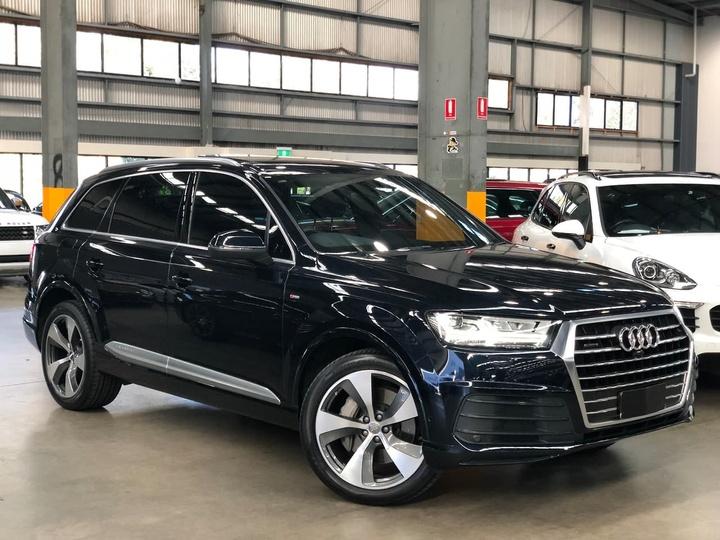 Audi Q7 Tdi 4m Wagon 7st 5dr Tiptronic 8sp Quattro 3 0dt 200kw