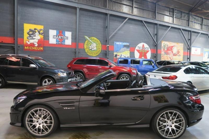 MERCEDES-BENZ SLK55 AMG R172 AMG Roadster 2dr SPEEDSHIFT PLUS 7sp 5.5i [Jan]