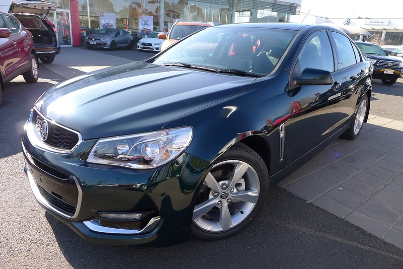 HOLDEN COMMODORE SV6 VF Series II SV6 Sedan 4dr Man 6sp 3.6i [MY16]