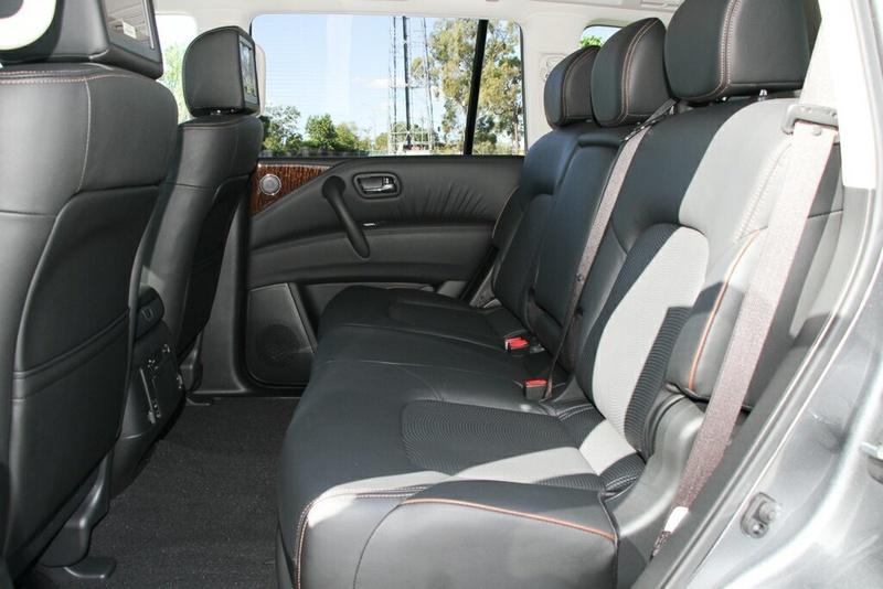 NISSAN PATROL Ti-L Y62 Series 4 Ti-L Wagon 7st 5dr Spts Auto 7sp 4x4 5.6i