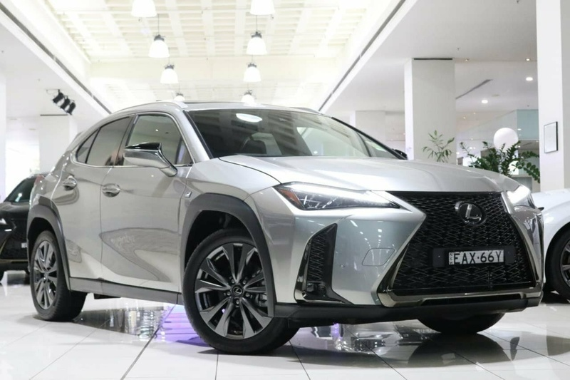 2018 Lexus Ux Ux200 F Sport Constantly Variable Transmission