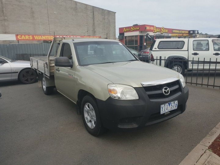 MAZDA BT-50 DX UN DX Cab Chassis Single Cab 2dr Man 5sp 4x4 3.0DT (2st)